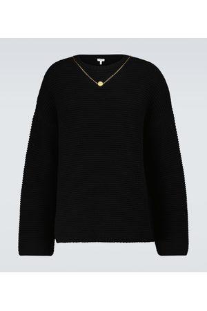 Loewe Chain wool and cashmere sweater