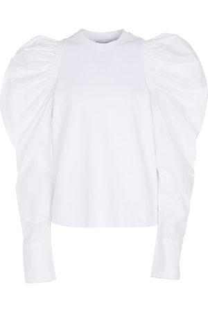 J.W.Anderson Dame Bluser - Cotton jersey blouse
