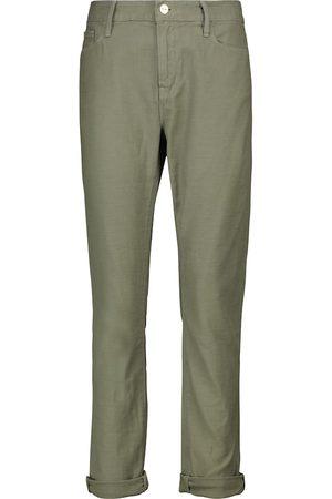 Frame Le Garçon mid-rise skinny jeans
