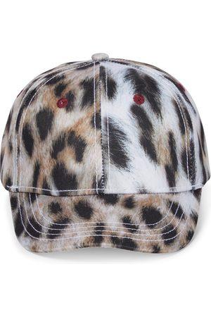 Molo Sebastian leopard-print cap
