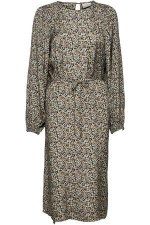 Kaffe Dame Mønstrede kjoler - Kaeita Dress Knelang Kjole Multi/mønstret