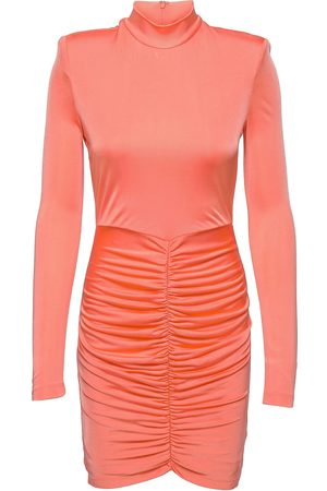 ROTATE Miki Dress Knelang Kjole Oransje
