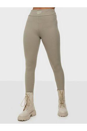 Reebok Dame Leggings - Cl Wde Cozy Knit Legging