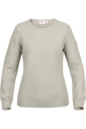 Fjällräven Dame Strikkegensere - Women's Övik Structure Sweater