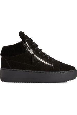 Giuseppe Zanotti Herre Platåsneakers - Kriss suede platform sneakers