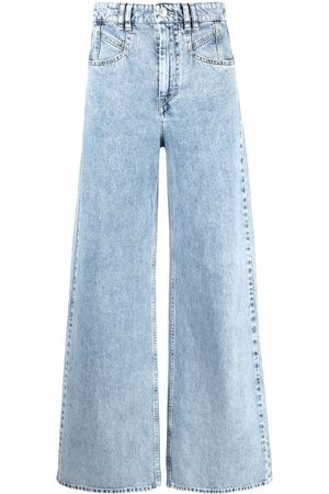 Isabel Marant High-rise wide-leg jeans