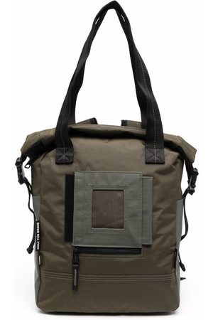 Diesel Herre Tote bags - Patch-detail zip-up tote bag