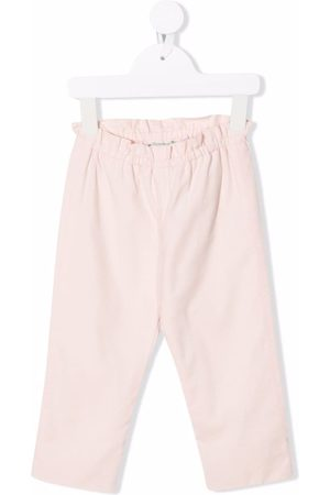 BONPOINT Chinos - Tweety elasticated-waist trousers