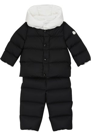 Moncler Baby Guroshe quilted down snowsuit