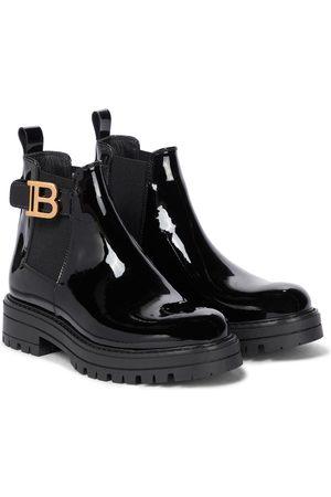 Balmain Patent leather Chelsea boots