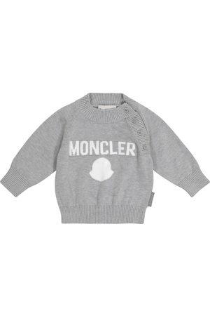 Moncler Baby logo cotton sweater