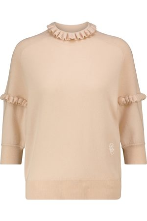 Chloé Ruffled cashmere sweater