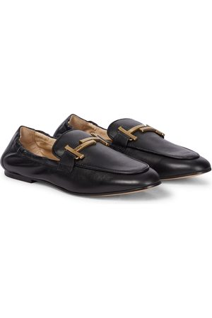 Tod's Doppia leather loafers