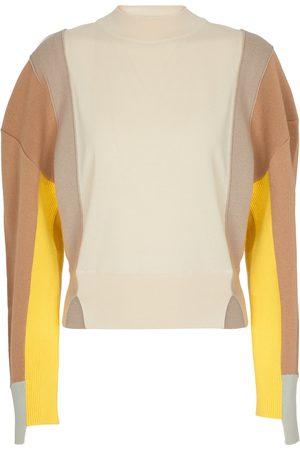 Stella McCartney Dame Strikkegensere - High-neck wool sweater
