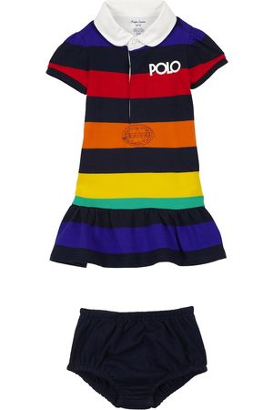 Ralph Lauren Baby striped dress and bloomers set