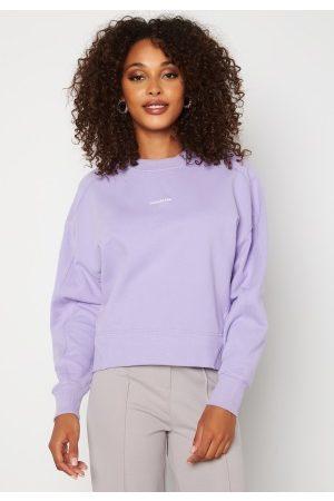 Calvin Klein Micro Branding Sweatshirt V0K Palma Lilac XL