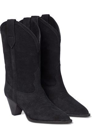 Isabel Marant Luliette suede Western boots