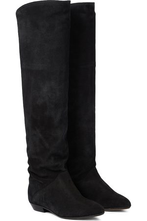 Isabel Marant Seelys suede knee-high boots