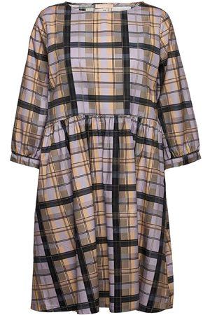Soft Rebels Dame Mønstrede kjoler - Srlizza Dress Knelang Kjole Multi/mønstret