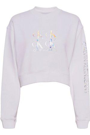 Calvin Klein Shine Logo Crew Neck Sweat-shirt Genser