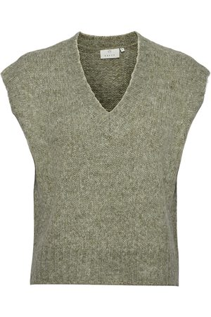 Kaffe Kaalioma Knit Vest T-shirts & Tops Knitted T-shirts/tops