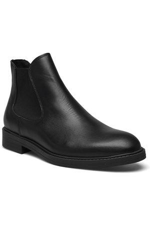 Selected Homme Slhblake Leather Chelsea Boot B Støvletter Chelsea Boot