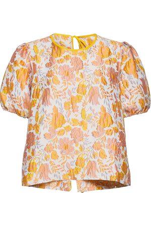 Résumé Frankrs Blouse Blouses Short-sleeved Multi/mønstret
