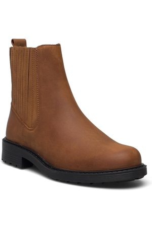 Clarks Dame Skoletter - Orinoco2 Mid Shoes Boots Ankle Boots Ankle Boot - Flat
