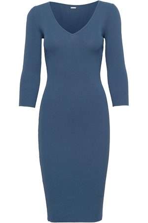 GUESS Jeans Florie Vn Swtr Dress Dresses Knitted Dresses
