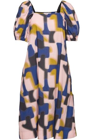Closed Womens Dress Knelang Kjole Multi/mønstret