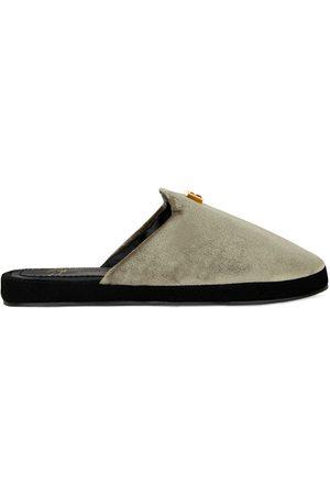 Giuseppe Zanotti Dame Flip flops - Domitille velvet slippers
