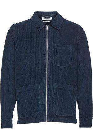 By Garment Makers The Organic Corduroy Jacket - Matt Dongerijakke Denimjakke Grønn
