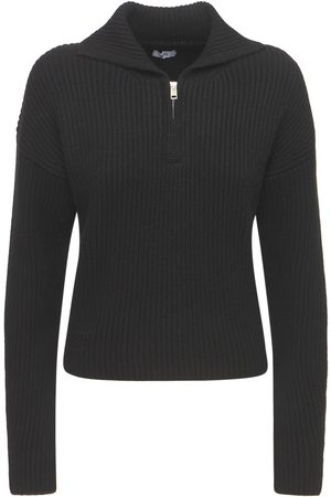 AG Sporty Cashmere Zip Sweater
