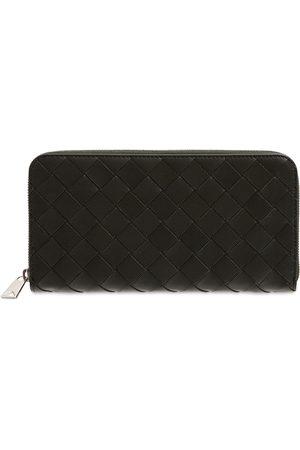 Bottega Veneta Herre Lommebøker - Intreccio Leather Zip Around Wallet