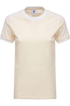 adidas Dame Kortermede - 3 Stripes T-shirt