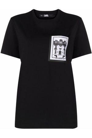 Karl Lagerfeld K/Maison-print cotton T-shirt