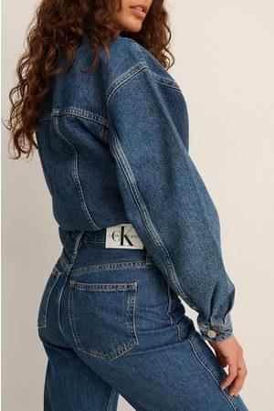 Calvin Klein Dame High waist - High Rise Straight Ankle Jeans