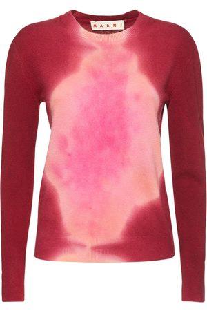 Marni Tye Die Knit Crewneck Sweater