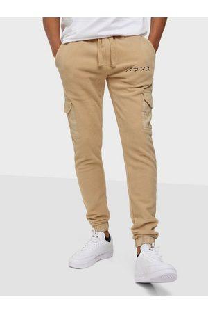 Denim Project DP Fleece Sweatpants Bukser & shorts Warm Sand