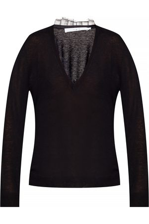IRO Lace-trimmed sweater