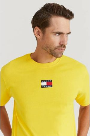 Tommy Hilfiger Herre Kortermede - T-shirt TJM Tommy Badge Tee