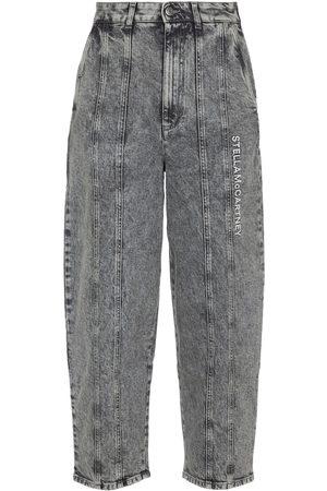 Stella McCartney High-rise wide-leg jeans