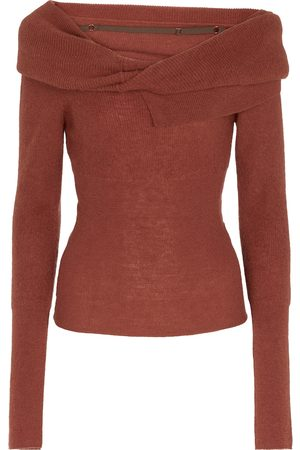 Jacquemus La Maille Ascua mohair and wool-blend sweater