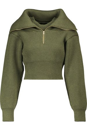 Jacquemus La Maille Risoul cropped wool sweater