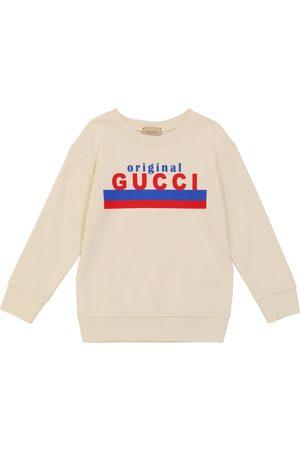 Gucci Kids Long-sleeved cotton sweatshirt