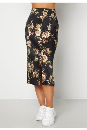 Happy Holly Teresa skirt Black / Patterned 48/50