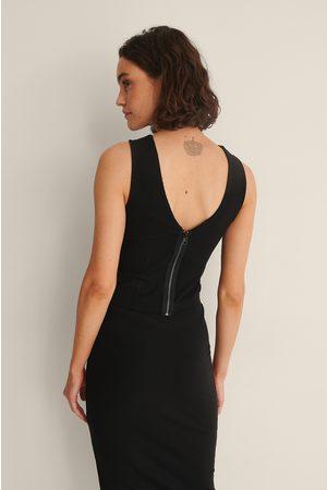 Calvin Klein Dame Crop - Ribbet Crop Top