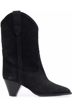 Isabel Marant Dame Cowboy boots - Duerto 40 western suede boots