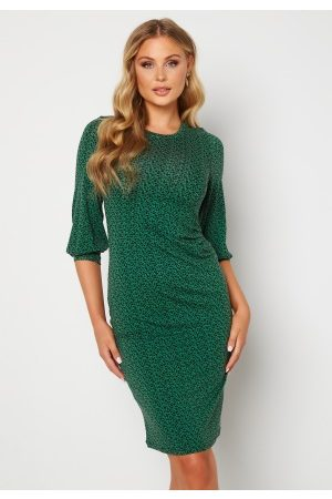 Happy Holly Zona dress Green / Floral 32/34