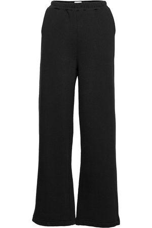 Black Halo Tundra Woolen Wide College Pants Vide Bukser